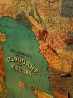 Melbourne Suburbs map