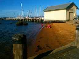 The boat shed at Hastings
