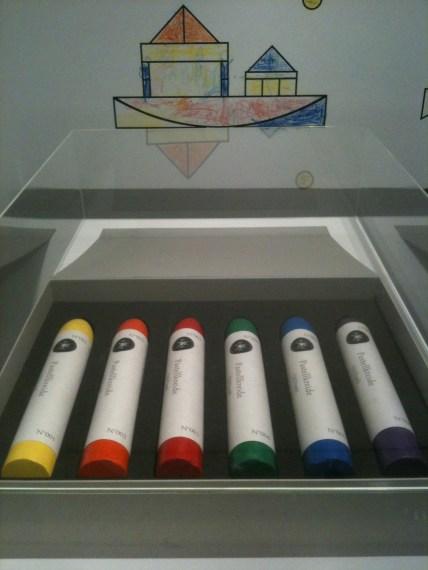 Giant crayons