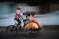 Becak by David Atkinson