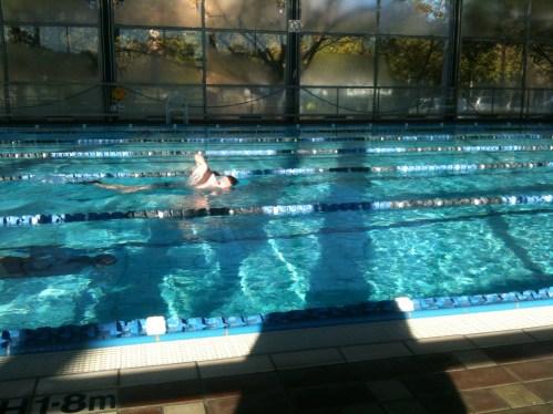 Swim in a pool