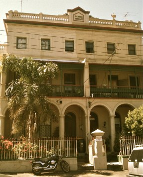 Drummond St neoclassical terrace