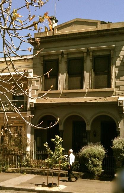 Drummond St neoclassic villa
