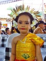 Bambang's bored Balinese small dancer