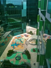 RCH Melbourne View of the Playground