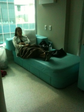 Carer comfort at the RCH