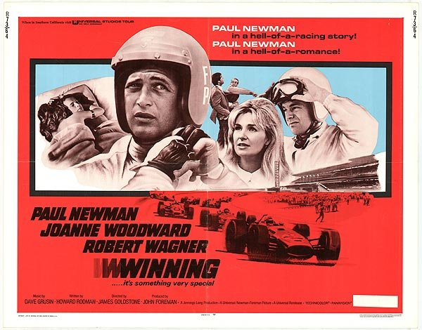 Let's Screen It Again! Winning: The Original 1969 Paul Newman Flick