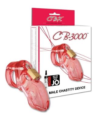 CB-3000 CHASTITY COCK CAGE