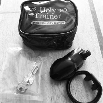 Holy Trainer Chastity Device Package