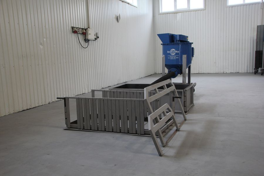 станок для производства газобетонных блоков