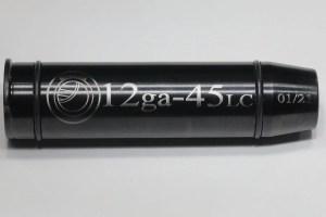 12ga to 45LC 3inch muzzle