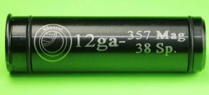 12 Gauge to 357 Magnum Shotgun Adapter