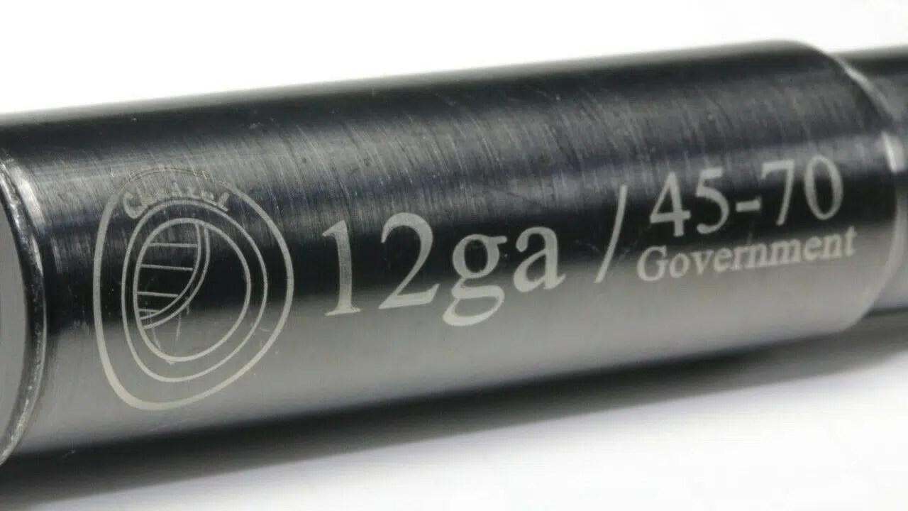 Chaszel 12 Gauge to 45-70 Government Shotgun Adapter