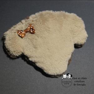 P'tite Frimousse chien, jouet créé par Georgia