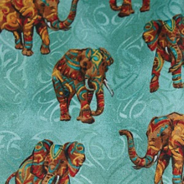 Tissu style Indes
