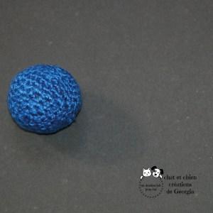 Petite Ballaine bleu électrique création de Georgia