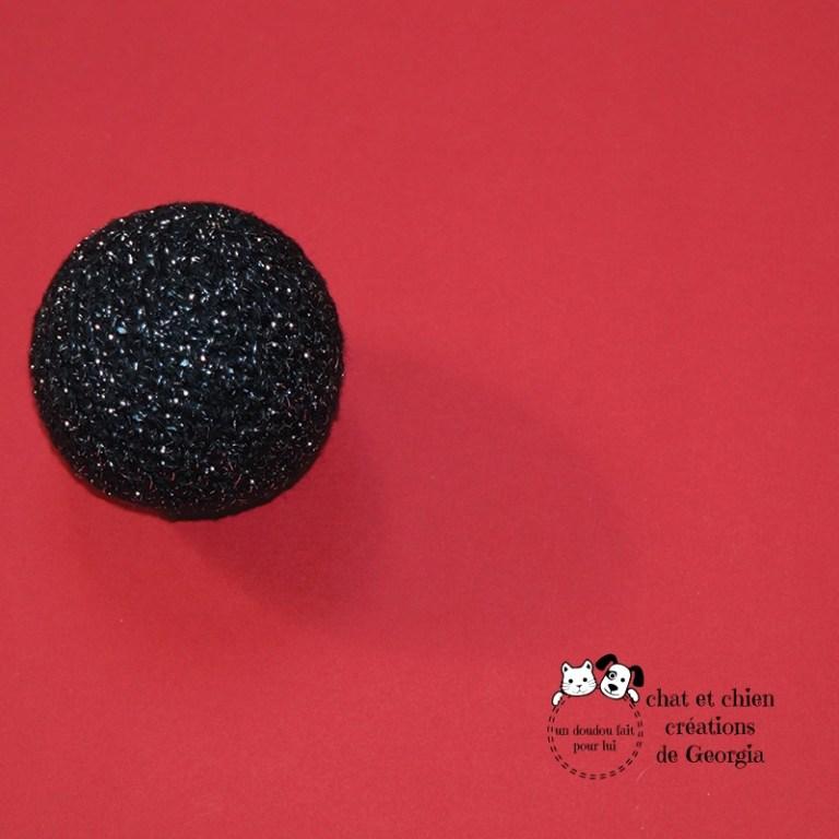 Ballaine lamée noire créée par Georgia