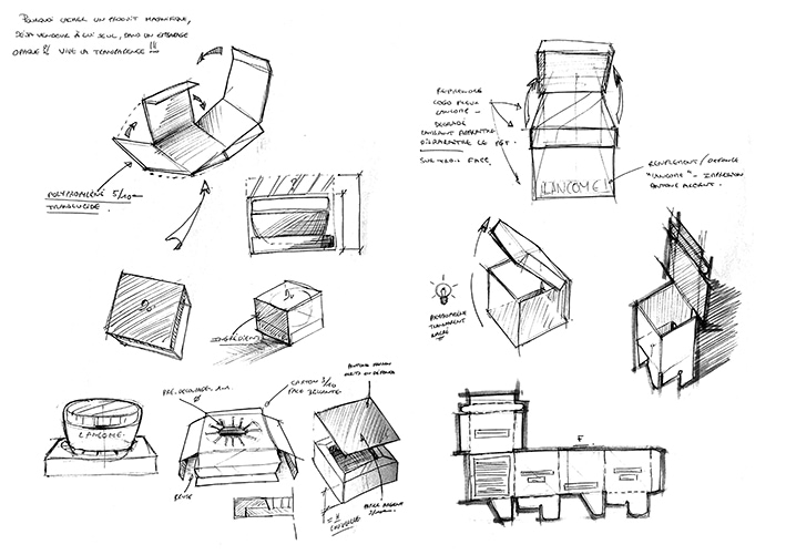 Etienne-giorgetti-portfolio-prototypage-packaging Lancome-Croquis-NB