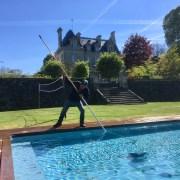 La piscine du Chateau d Argouges