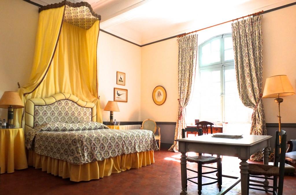Chambre Jaune  Chteau dEsparron