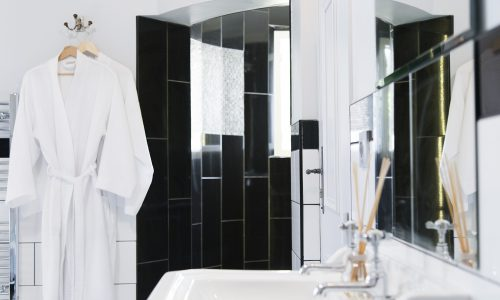 chateau de jalesnes hotel bathroom details loire valley france