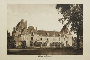 chateau de jalesnes hotel loire valley france postcard