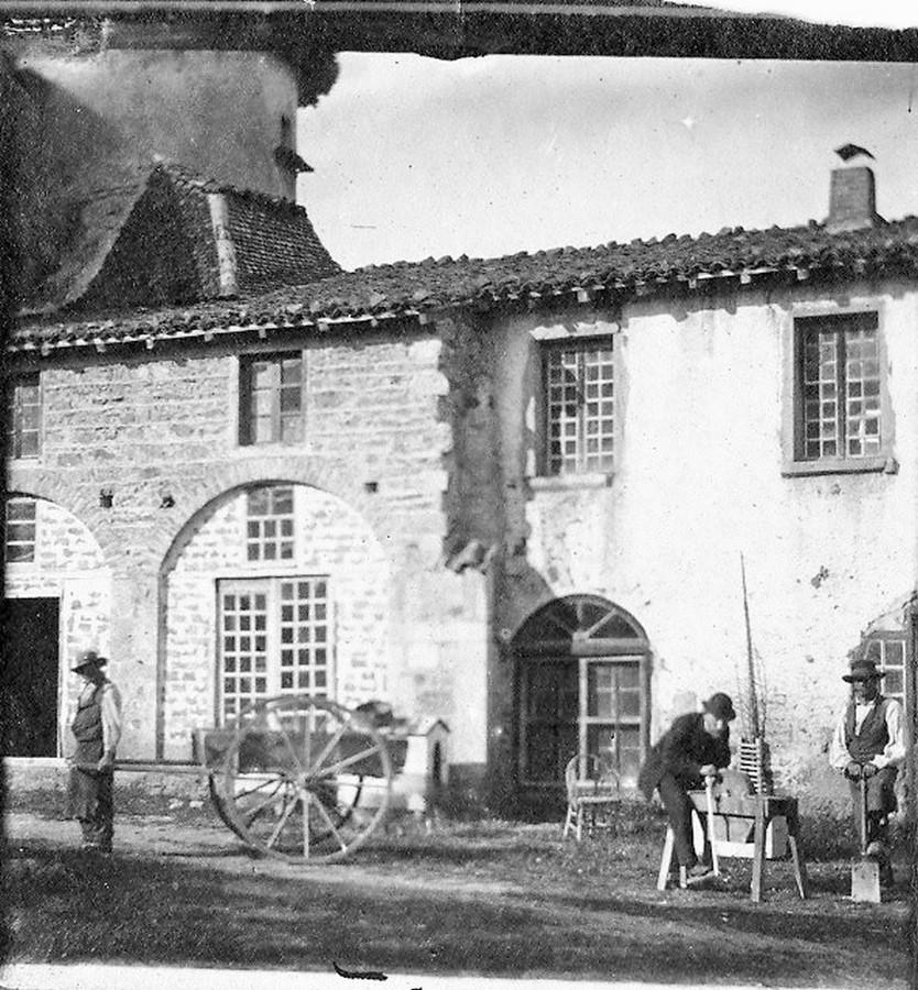 Saconay - Bâtiment remplacé par l'actuelle orangerie