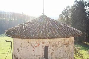 Saconay - Le toit de la tour Sud