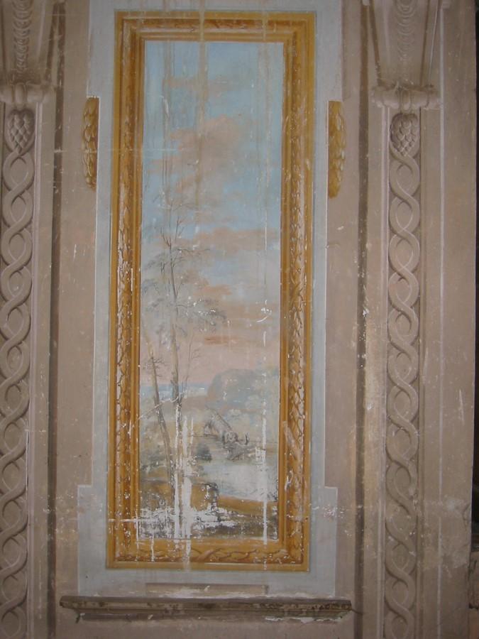 Saconay - Fresque dde la galerie 4