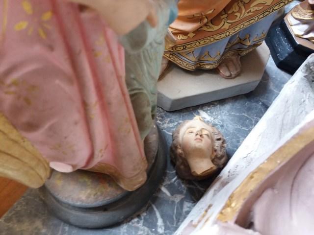 Saconay - Un ange a perdu la tête