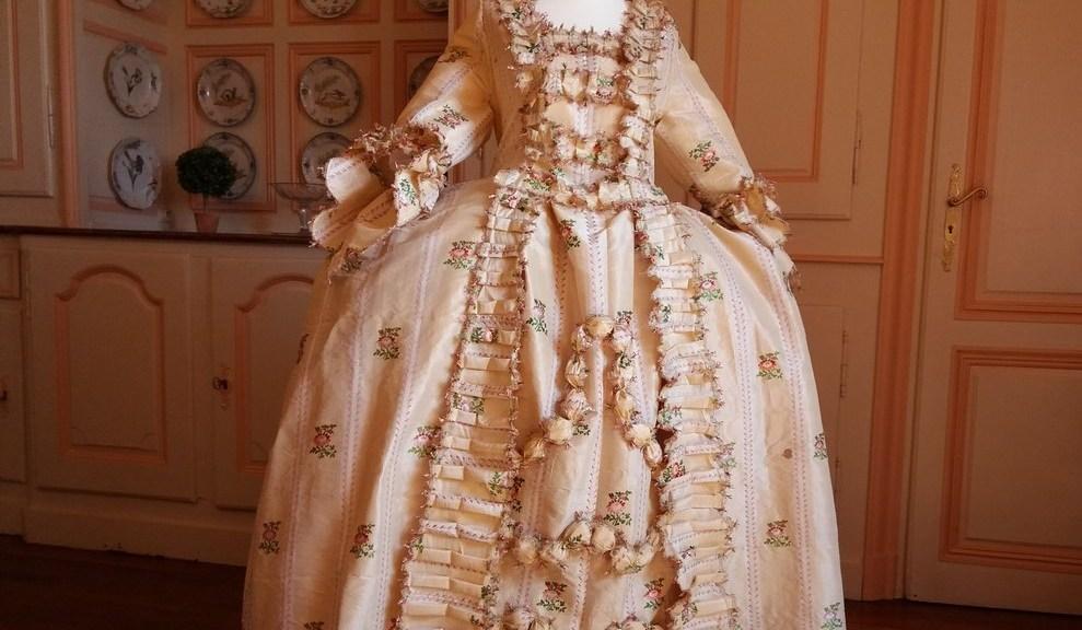Saconay - robe terminée