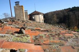 Saconay - Pierres au bord des toits