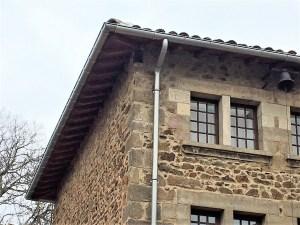 Saconay - Angle bâtiment neuf terminé