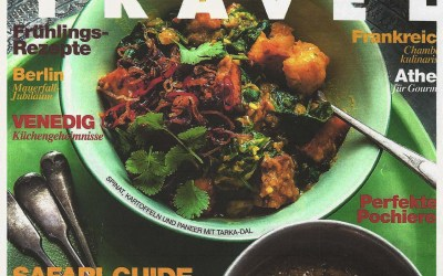 Nouvelle presse : Food and Travel magazine