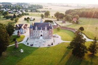 Château de Tilly Vue Aérienne-1