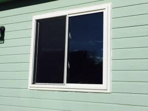 New Cutting Edge II sliding window on lower level.