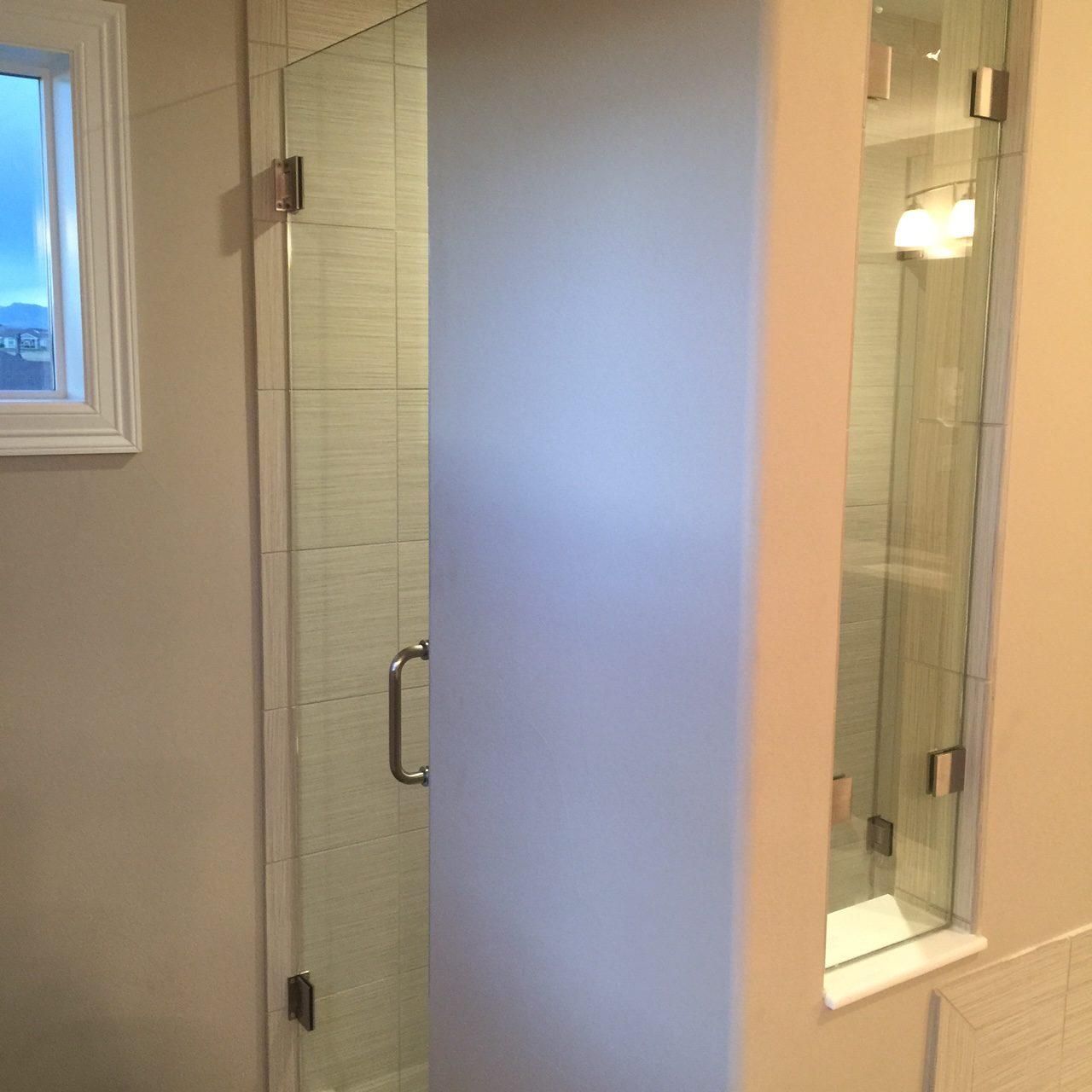 Custom showers   Chateau Window And Shower Enclosure