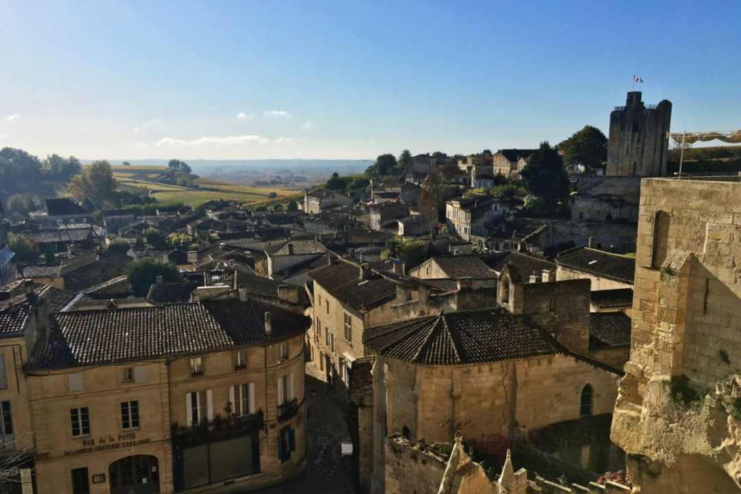 Roof tops of Saint Emilion