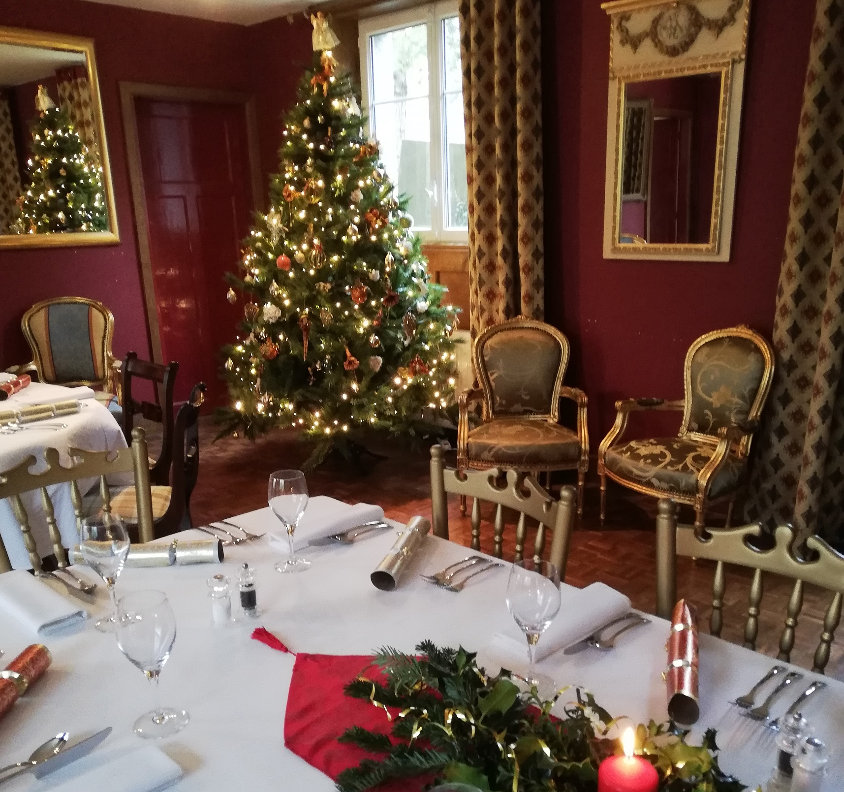 Kick Off To Christmas At The Chateau De Vaudezert Normandy Chateauxescapesfrance Com