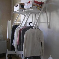 Folding Chair Storage Hooks Herman Miller Aeron Seattle Cool Idea With A Chair! - Chatelaine