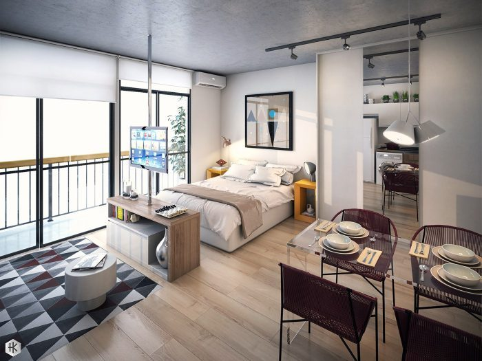 Studio apartment small