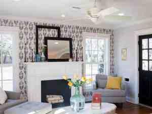 hgtv fixer upper joanna gaines closet living decorating wall fireplace farmhouse inspiration takeaways garden