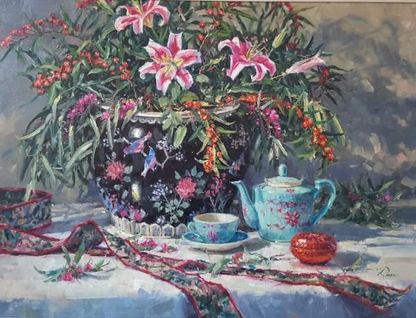 Tea And Splendor - Chatham Fine Art