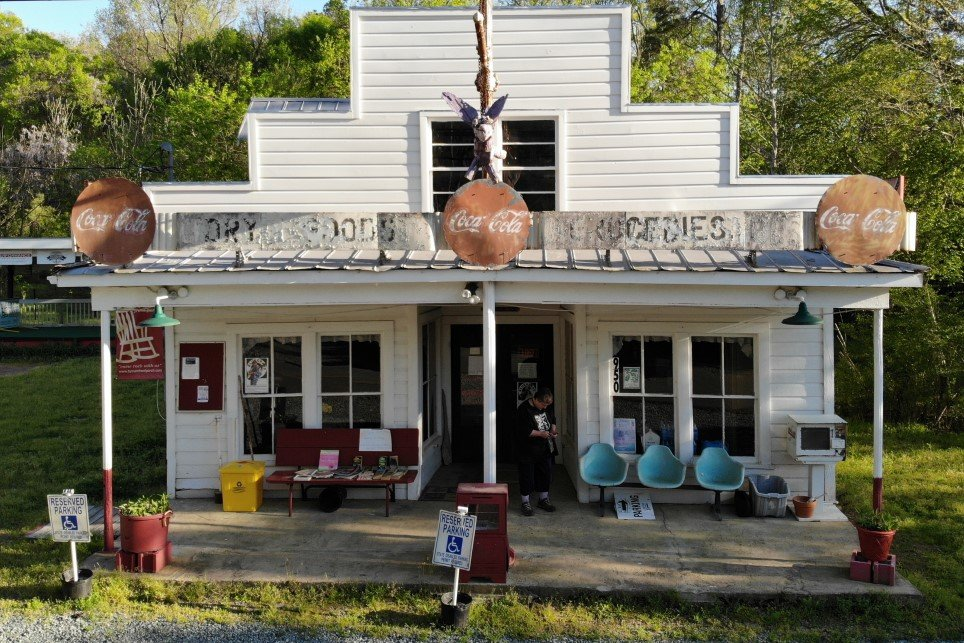 Saturday, April 3 – the spring Bynum Front Porch workday at the Bynum General Store