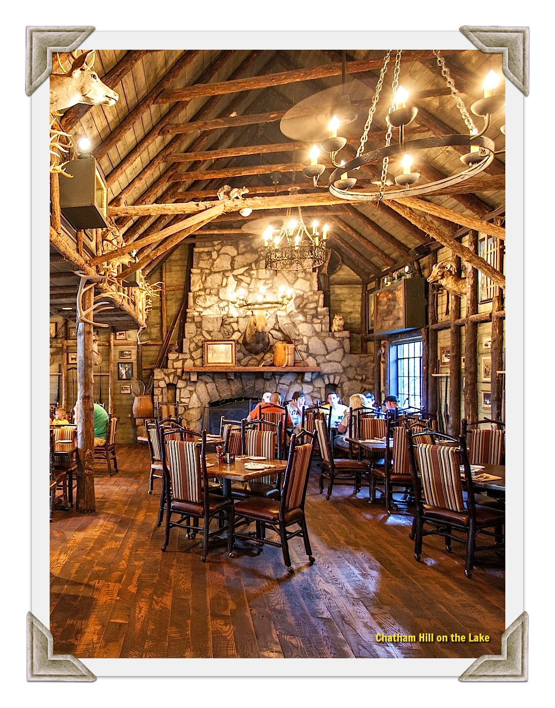 Dine at the Devils Bar Restaurant at Big Cedar Lodge, Branson, MO
