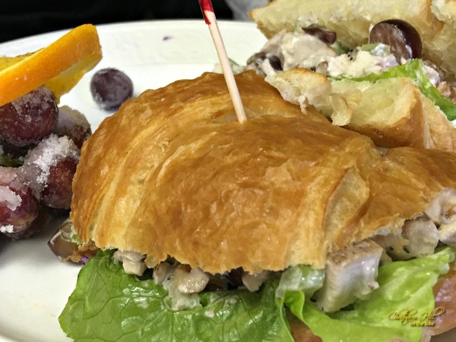 Imogene's Chicken Salad Sandwich www.chathamhillonthelake.com