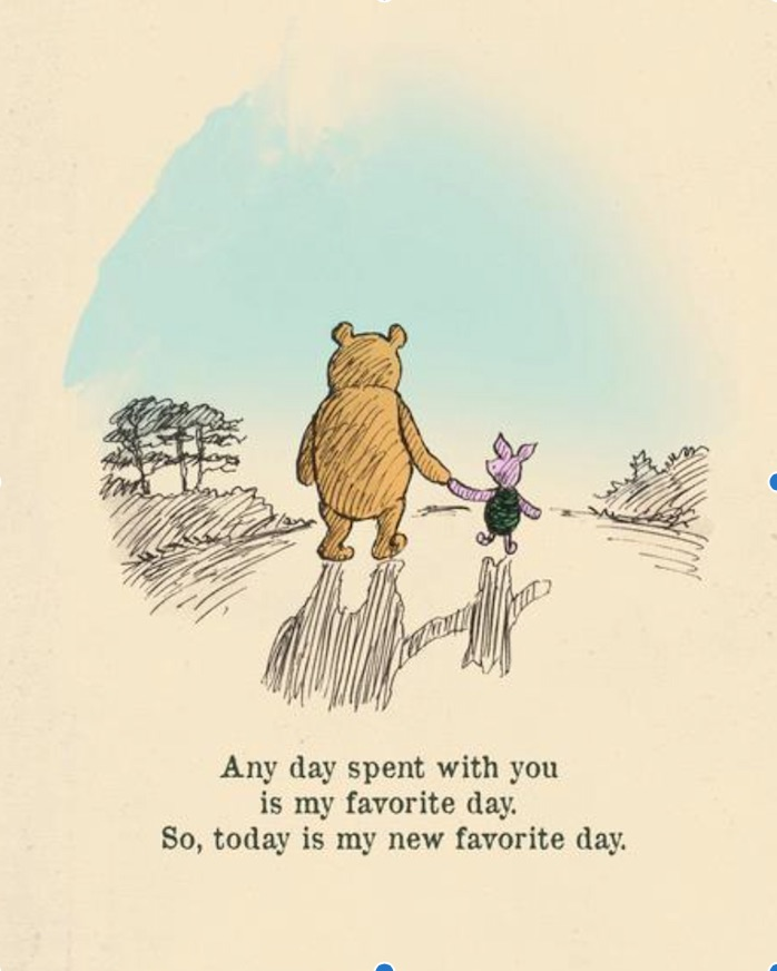 Pooh Quote at www.chathamhillonthelake.com