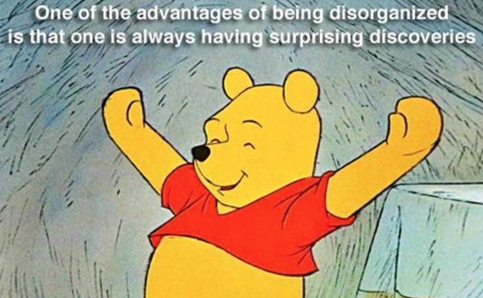 disorganized pooh