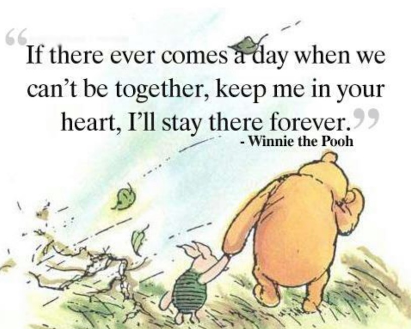 in my heart forever pooh www.chathamhillonthelake.com