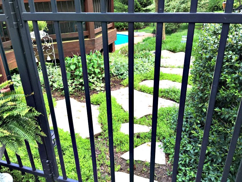 Garden Tour Gate